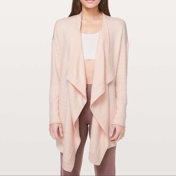 lululemon athletica Jackets & Blazers - Pink lululemon find your calm wrap
